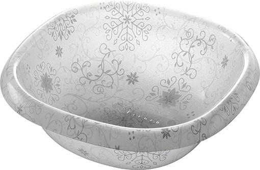 【送料無料】オシャレなアクリル製の洗面器 フィルロシュシュ ウォッシュボールS オフホワイト