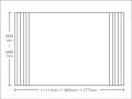 【送料無料】東プレ お掃除カンタン!オーダーイージーウェーブ 600〜640×1111・1145・1177mm