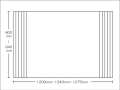 【送料無料】東プレ お掃除カンタン!オーダーイージーウェーブ 600~640×1209・1243・1275mm