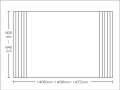 【送料無料】東プレ お掃除カンタン!オーダーイージーウェーブ 600~640×1406・1439・1472mm