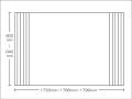 【送料無料】東プレ お掃除カンタン!オーダーイージーウェーブ 600~640×1733・1766・1799mm