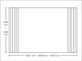 【送料無料】東プレ お掃除カンタン!オーダーイージーウェーブ 660〜690×1831・1864・1897mm