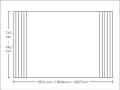 【送料無料】東プレ お掃除カンタン!オーダーイージーウェーブ 710~740×1831・1864・1897mm