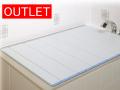 【アウトレット】【送料無料】風呂ふた 折りたたみタイプ M9 70×89cm ブルー