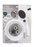【送料無料】節水ストップシャワーセット(ワイド)
