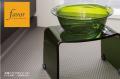 人気商品!【送料無料】〜フェイヴァ/Favor〜アクリル製お風呂いすS&お風呂ボウルのセット♪(グリーン)