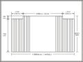 【送料無料】変形巻きふた左右切欠き 82×156cm