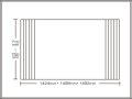 【送料無料】くるくる巻ける巻きふた オーダーシャッターふた710〜750×1424・1458・1492mm