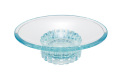 【アウトレット】ガラスのような質感 レトロ感漂うかわいい石鹸置き ucaソープディッシュ レニ