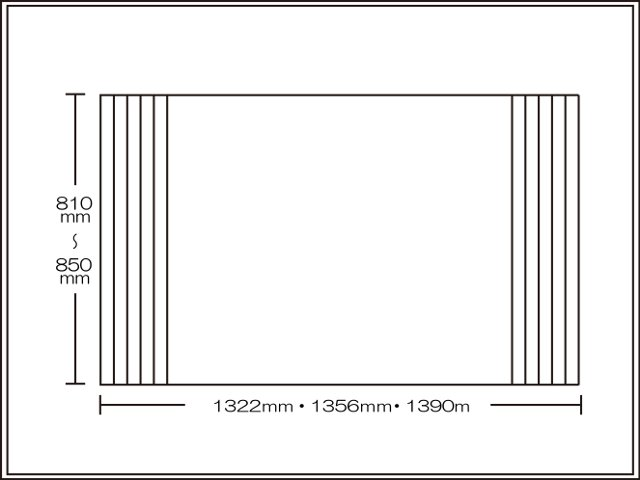 【送料無料】くるくる巻ける巻きふた オーダーシャッターふた810~850×1322・1356・1390mm
