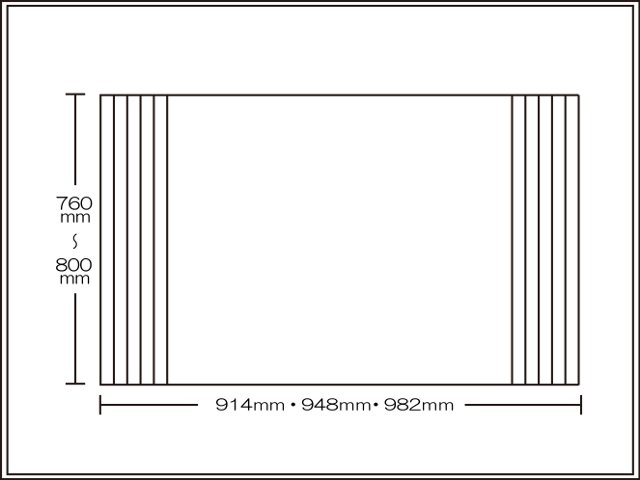 【送料無料】くるくる巻ける巻きふた オーダーシャッターふた760~800×914・948・982mm