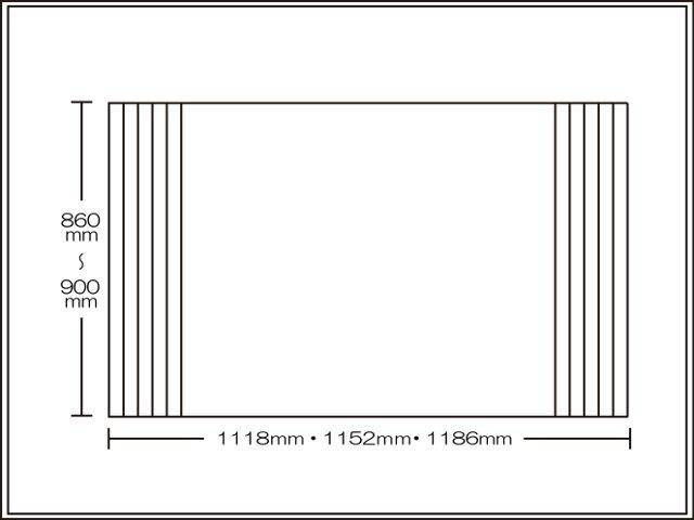 【送料無料】くるくる巻ける巻きふた オーダーシャッターふた860~900×1118・1152・1186mm