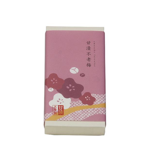 甘漬不老梅 100g(紙箱)