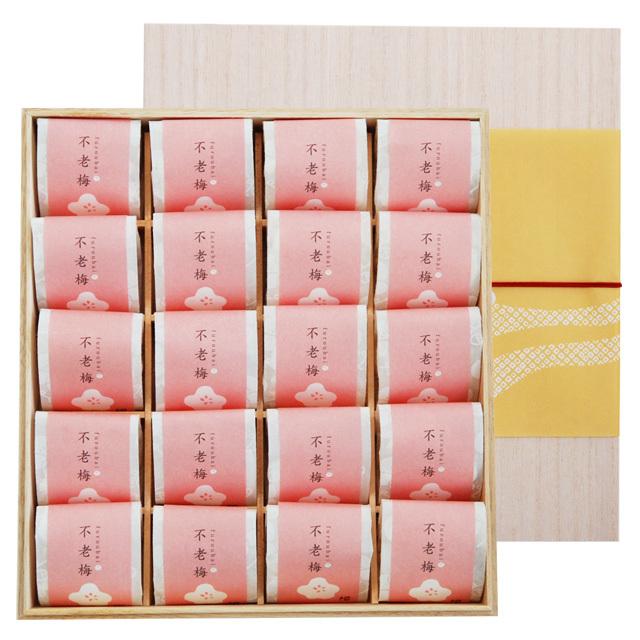 個包装 梅ふるーてぃ20粒(木箱)