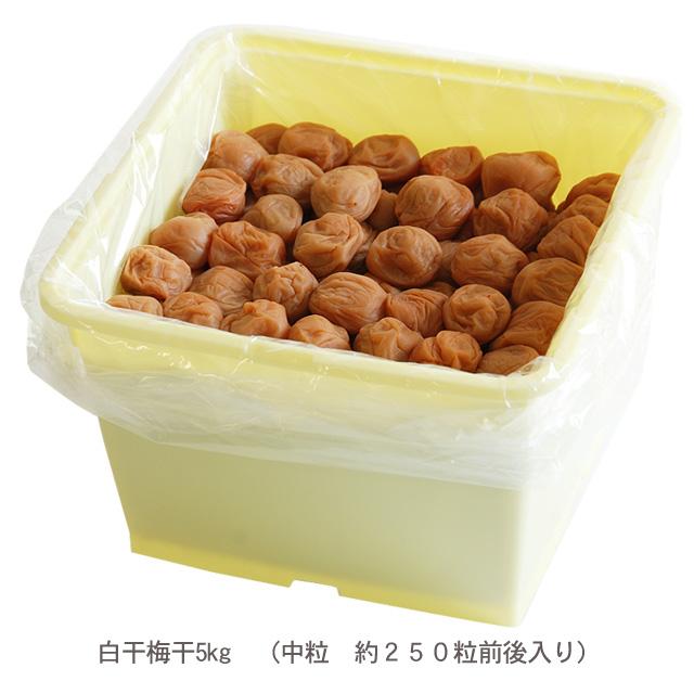 白干梅干5kg 特別価格