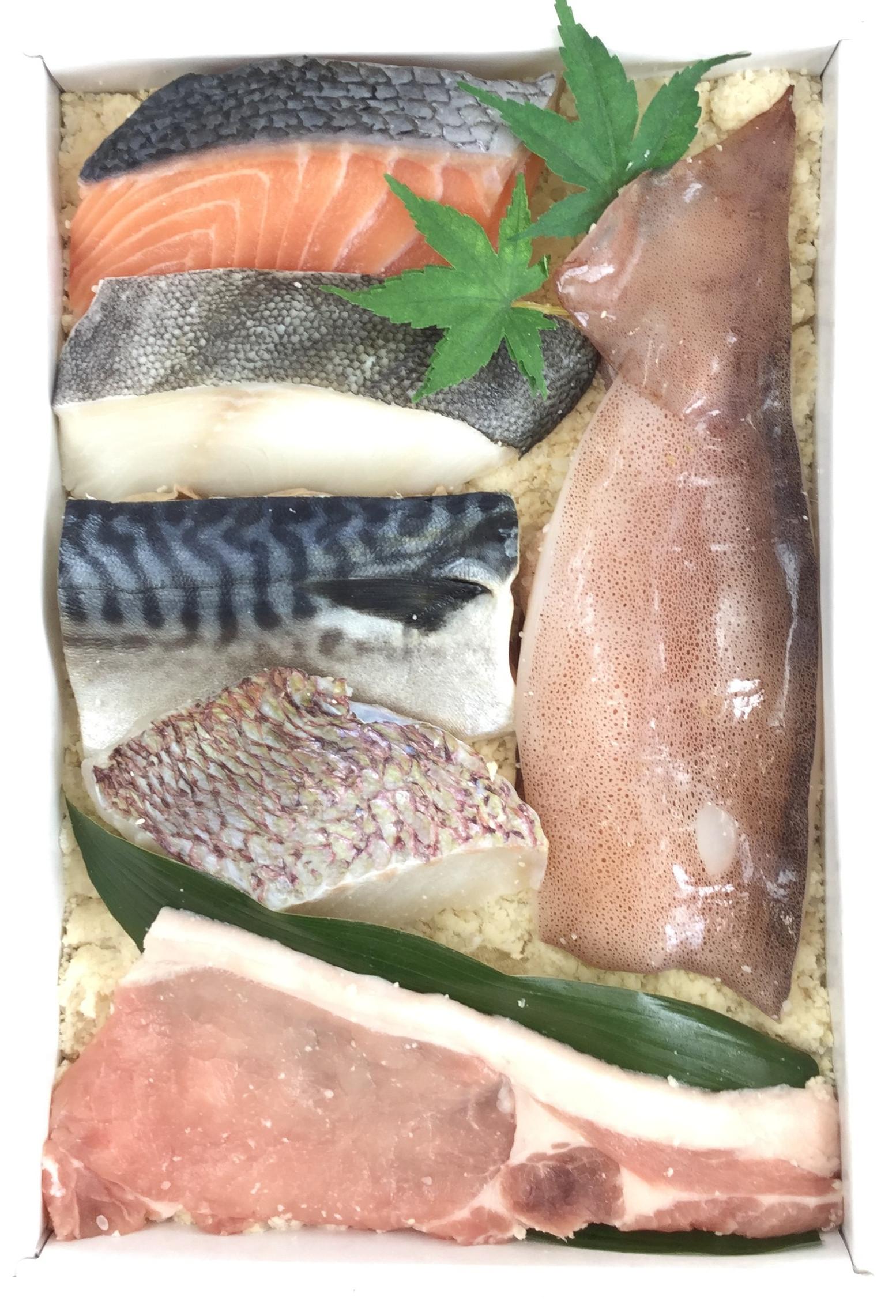【送料込み】蔵直 -別誂- 漬け魚・漬け豚詰合せ50F ちょっと小ぶりな食べきりサイズ詰合せ