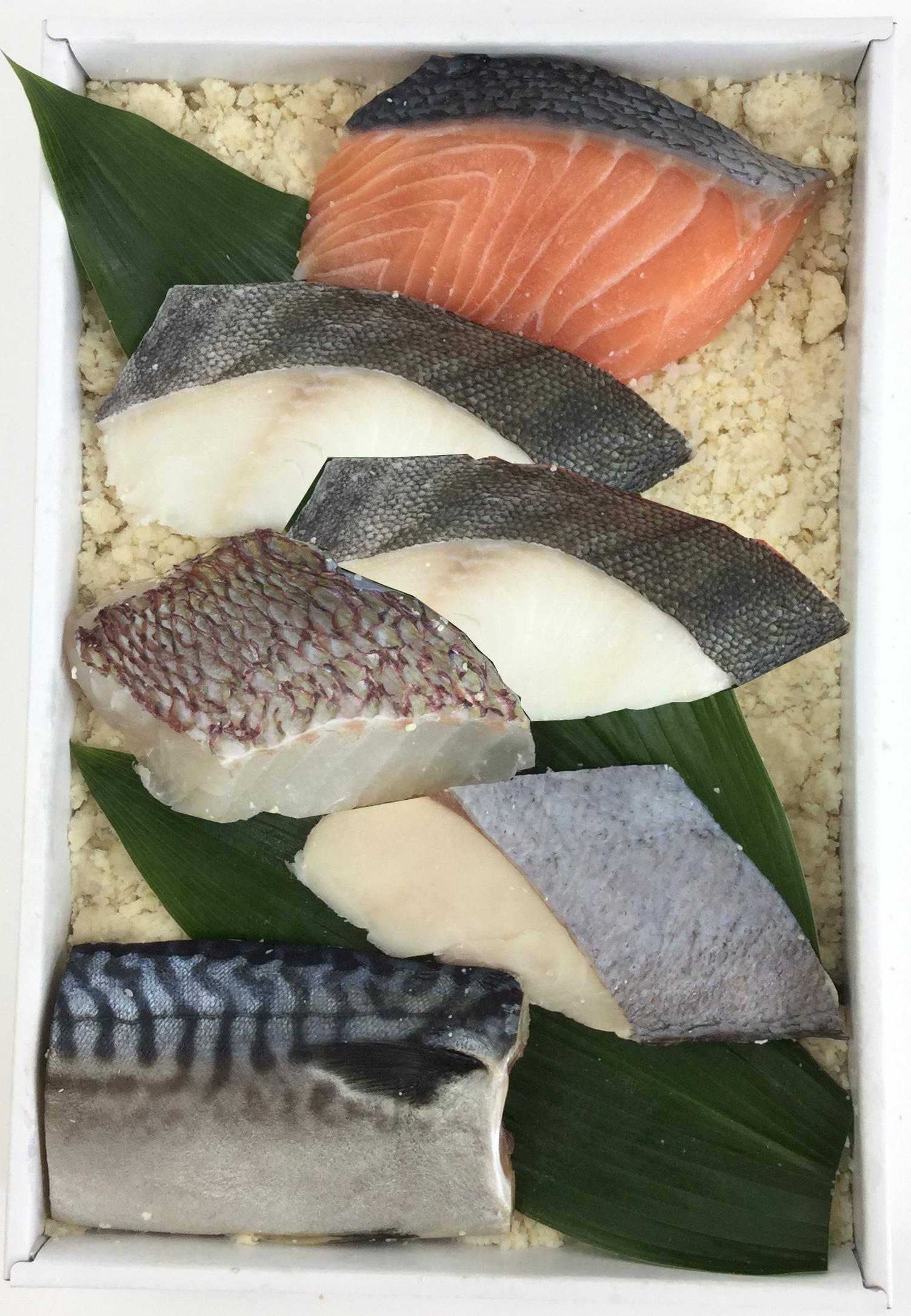 【送料込み】蔵直 -別誂- 漬け魚詰合せ50E ちょっと小ぶりな食べきりサイズ詰合せ