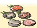 【送料無料「おうち時間」応援限定販売】ご自宅用「漬け魚(つけとと)・漬け豚(つけとん)詰合せ」7P入