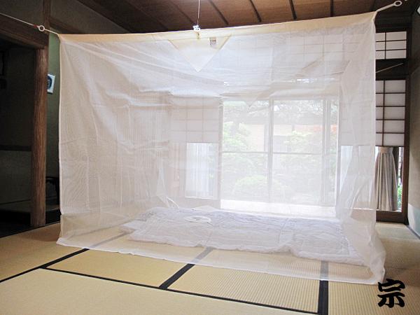 蚊帳生成り片麻