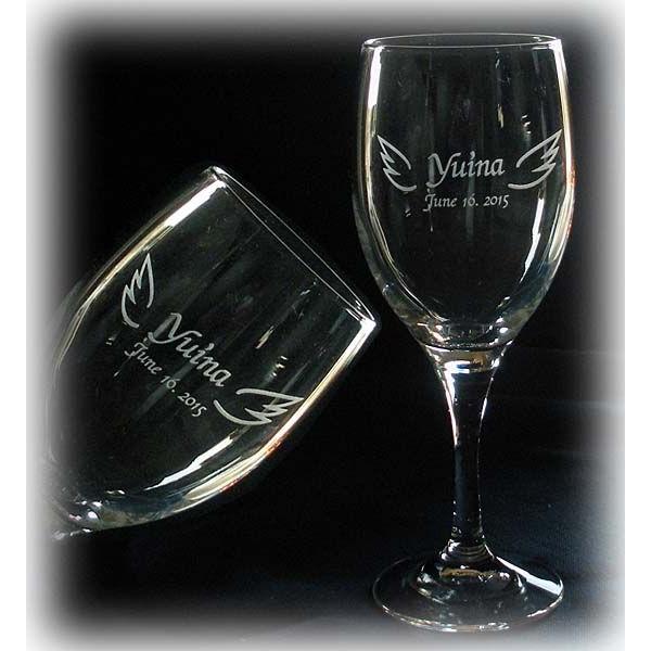 名入れ ワイングラスB