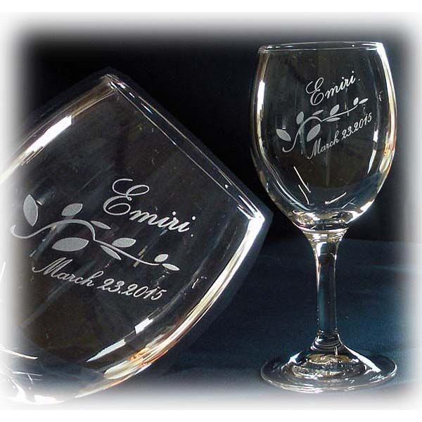 名入れ ワイングラスA