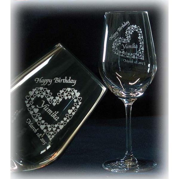 名入れ ワイングラスC