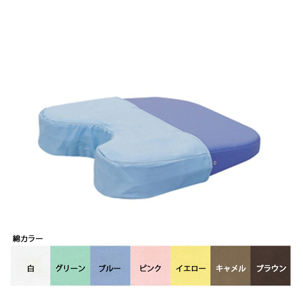 ケアーバスト用綿製ハーフカバー