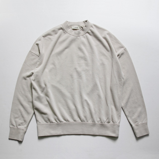 alvana / Daily Crew Neck Tee - Natural Grey