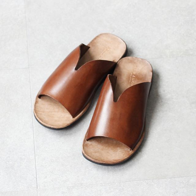 BRADOR / Leather Sandal - Mogano