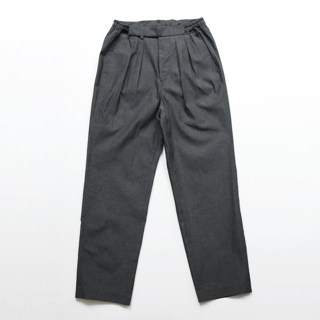 BRENA / String Trouser 2T - Uneven Thread Chambray