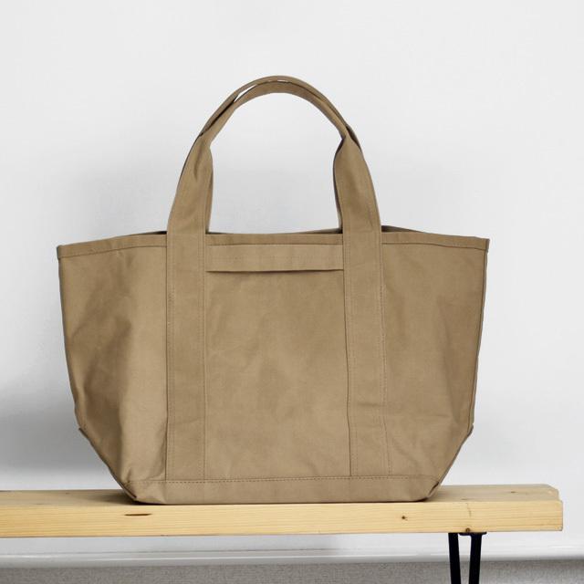 ARMEN / Canvas Tote Bag - Khaki Beige