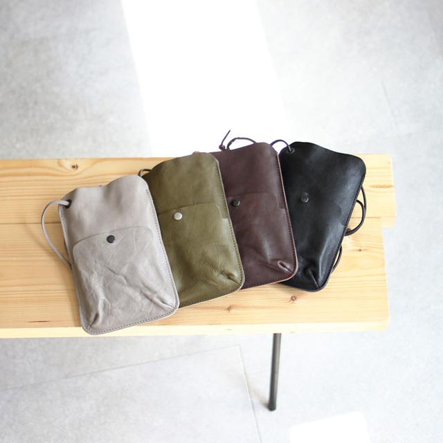 Arts & Crafts / Vegetable Horse Leather Phone Shoulder