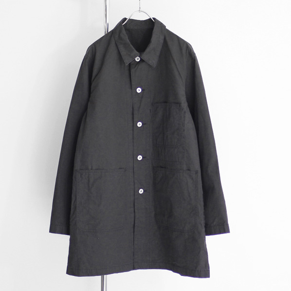 BRENA / SHOP COAT - Black