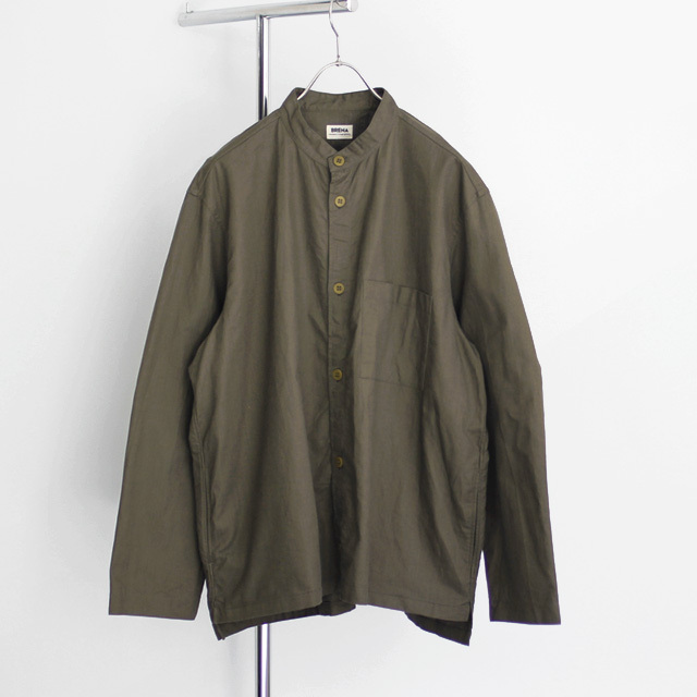 BRENA / SHELL Band Collar - Olive