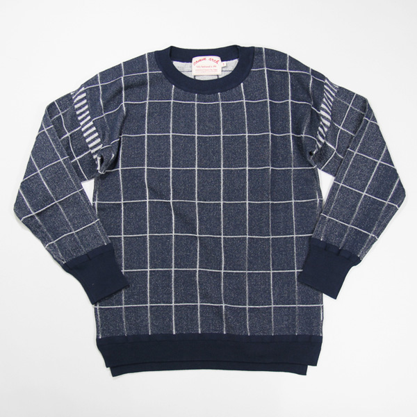 <35% OFF> comm. arch. / Graph Paper Pullover - DenimGraph