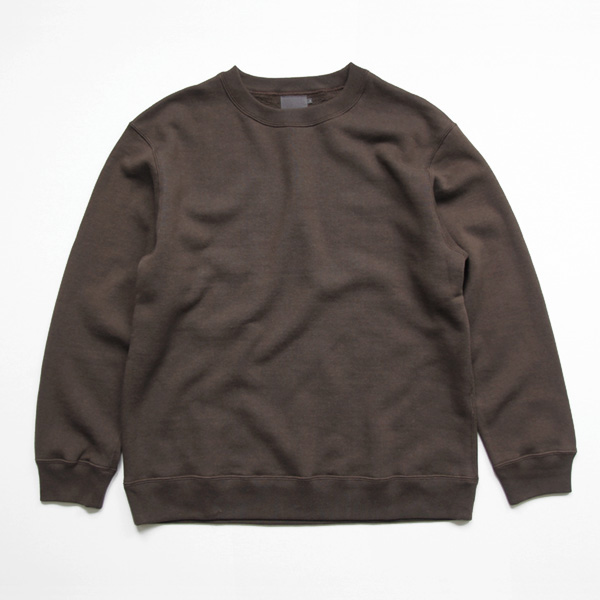 comm. arch. / Organic Cotton Pullover - Burnt Nut