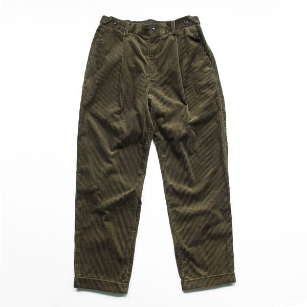 comm. arch. / 6W Corduroy Trousers - Deep Forest