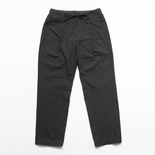 comm. arch. / Slub Cloth Easy Trouser - Coalmine