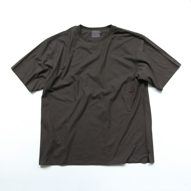 comm. arch. / Double Layered S/S Tee - Burnt Brown