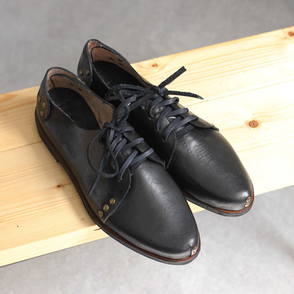 Caboclo / Leather Shoe - Black