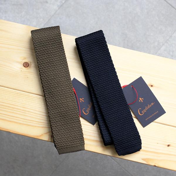 Candidum / Silk Knit Tie