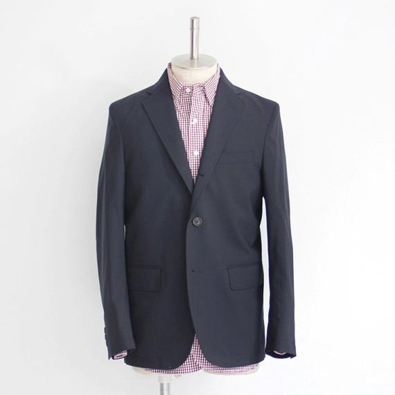 D.C. White / Tailored Jacket - Summer Wool / Navy