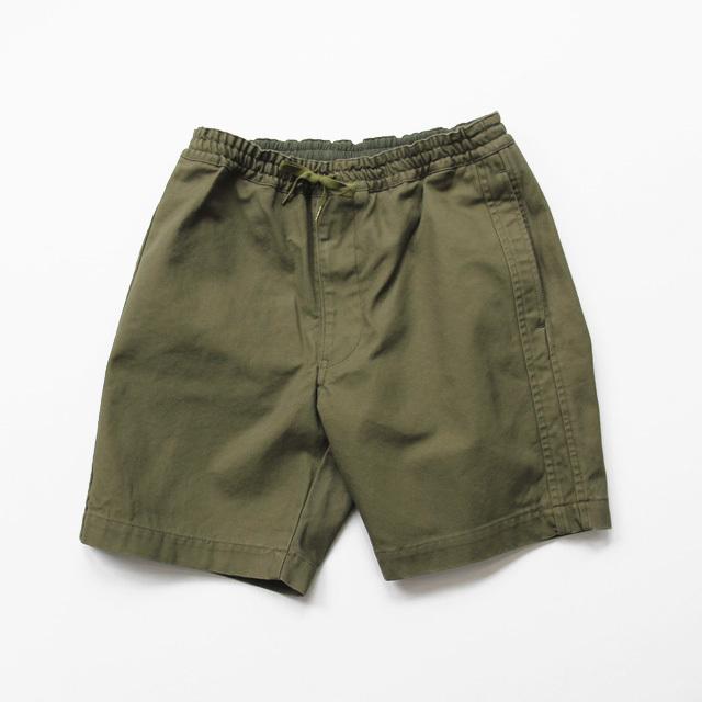 FUJITO / Line Easy Shorts - Olive