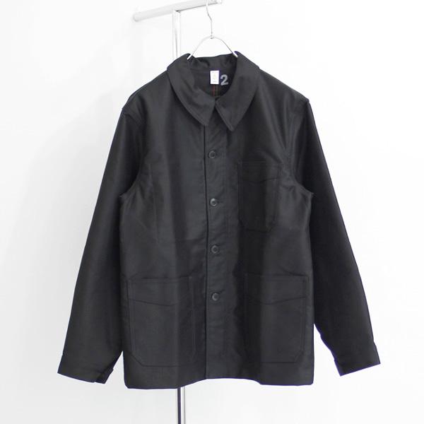 Le Travailleur Gallice / Moleskin Work Jacket - Black