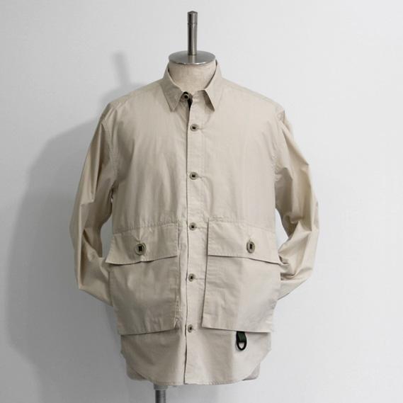 Hawkwood Mercantile / Peninsula Overshirt - Ventile/Beige