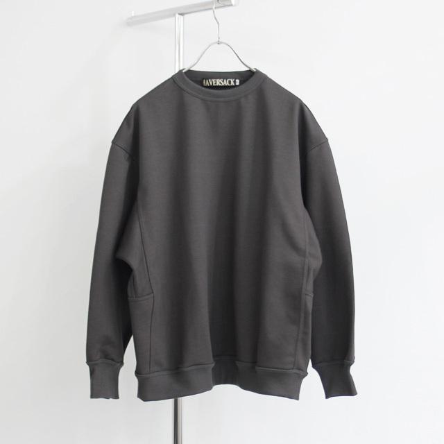 HAVERSACK / Sweat Shirt - Charcoal