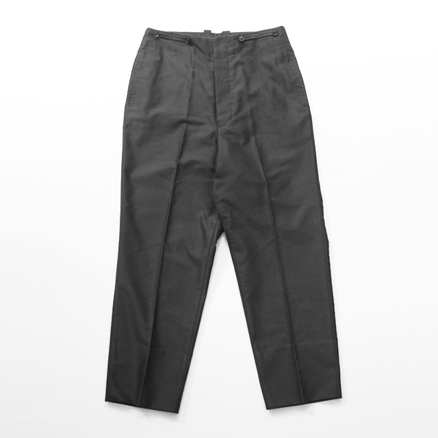HAVERSACK Attire / Moleskin Suspenders Pants - Black