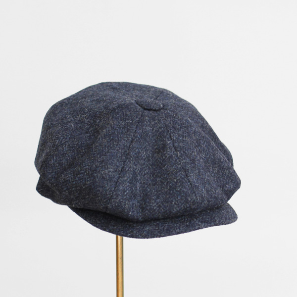 James Lock / Muirfield - Wool Tweed - Navy