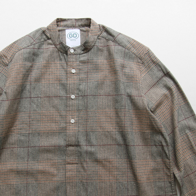 GD by James Mortimer / Grandad Shirt - Gken Check