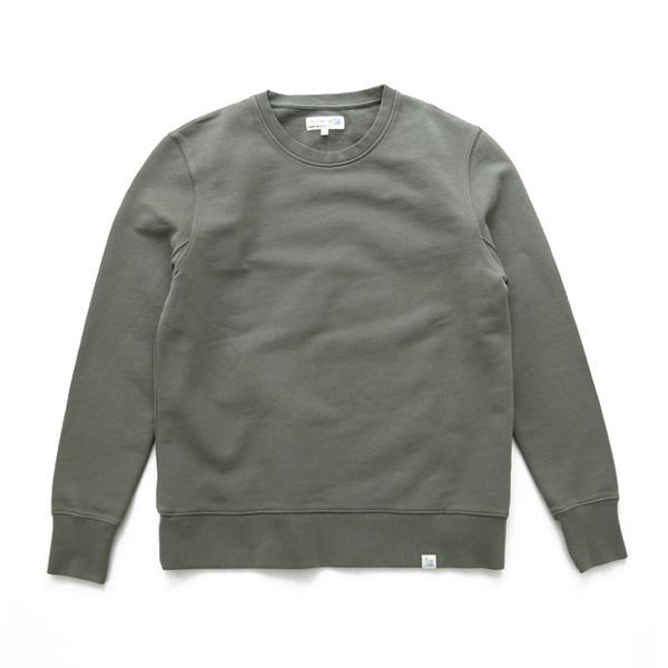"""Merz b.Schwanen / """"GOOD BASICS"""" - Sweat Shirt - Green"""